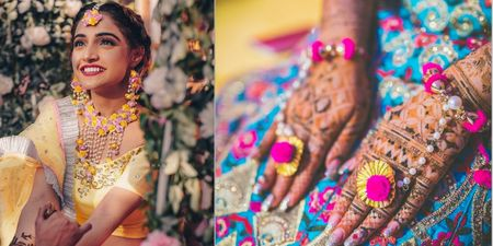 The Most Unique Floral & Gota Jewellery We've Spotted Of Late That You MUST Get For Your Mehendi & Haldi!