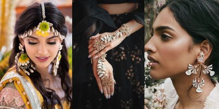 #Trending: Seashell Jewellery For The Mehendi
