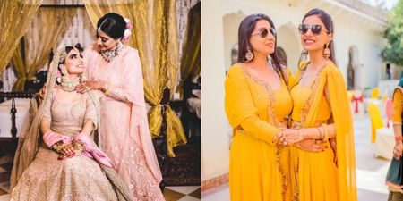 This Bride Twinned With Her Mom On Her Wedding Functions & It Looked Amazing!