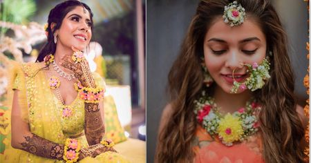 These Brides Went OTT With Floral Jewellery, And We're Loving It!