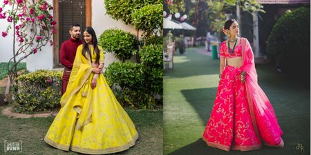 #Trending: Neon Lehengas Are Here, & They Look Bright & Happy For The Mehendi!