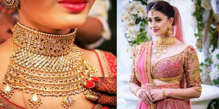 SPOTTED: Stunning Aadh Necklaces On Real Brides That Are Too Hard To Resist