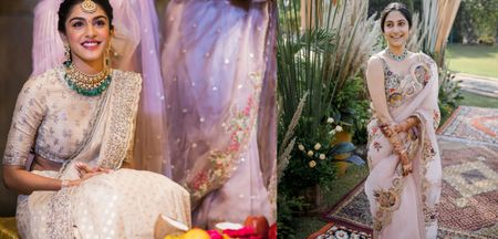 Unique Hues We Spotted In Sarees Recently!