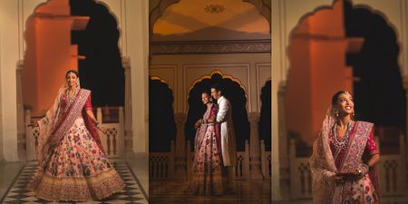 A Beautiful Jaipur Destination Wedding With A Bride Who Wore Custom Outfits