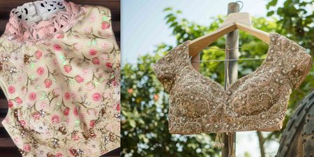 Real Brides Reveal: The Best Places In Mumbai To Get A Bridal Blouse Stitched!