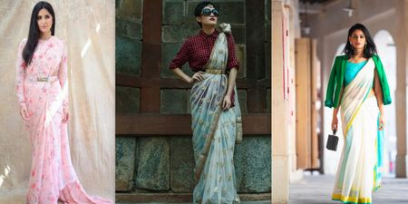 Bridesmaids! Here Are Some Cool & Trendy Ways For You To Drape That Saree!