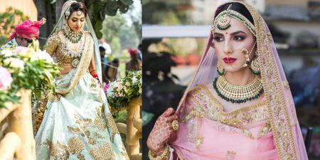 How To Create A Fab Bridal Look Without Investing In A 10 Kg Lehenga!