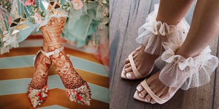 Ruffles To Metallic Charms, Quirky Elements You Can Perk Up Your Bridal Footwear With!