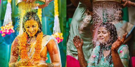 Mangala Snanam Never Looked This Beautiful! Must Read For #SouthIndianBrides