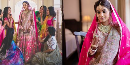 A Drop-Dead Gorgeous Jaipur Wedding With Customised Outfits And Quirky Decor