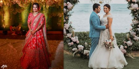 A Cross-Culture Destination Wedding Full Of Love, Sass And Laughter!