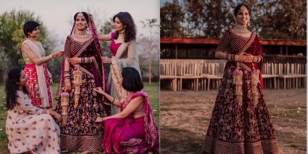 A Stunning Punjab Wedding With A Hint Of Old-School Charm!