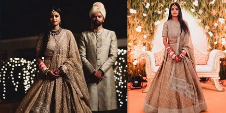 A Beautiful Wedding With Gorgeous Bridal Outfits