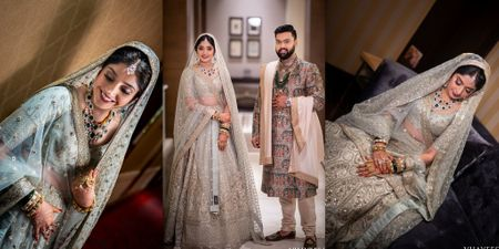 A Wedding With 2 Ceremonies, Stunning Decor & A Gorgeous Reception Lehenga