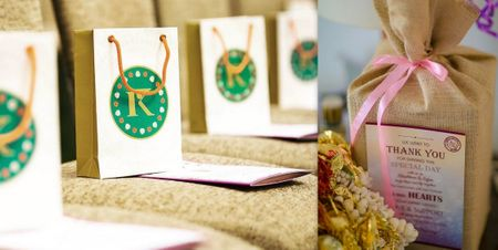 Want Cute Personalised Packaging For Your Wedding? Ideas & Vendors Who Can Do It For You!