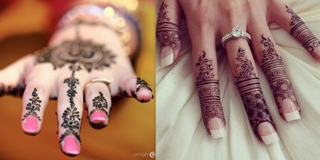 15+ Unique Finger Mehndi Designs That You'll Absolutely Love