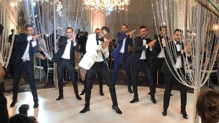 This Groom's Co-ordinated Dance With His Squad Is Legit Goals!