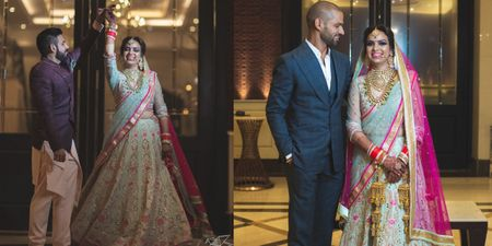 Shikhar Dhawan's Sister Recently Tied The Knot & Here Are Exclusive Images!