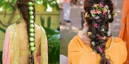 #Trending - Floral Jewellery For Hair!