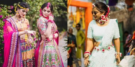 #Trending: All Floral Maathapattis & Ear Chains