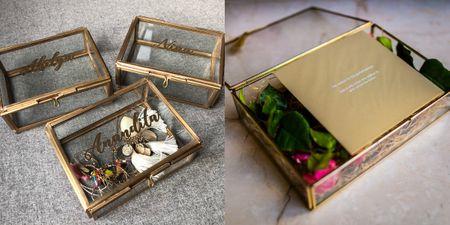 #Trending: Glass Curio Boxes For Wedding & Bachelorette Invites!