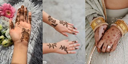 Stunning Mehendi Designs For The Sister Of The Bride & Bridesmaids!