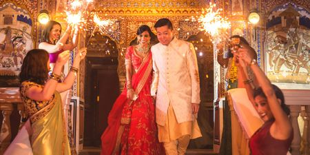 An Intimate Rajasthan Wedding With A Historic Charm & Modern Details!