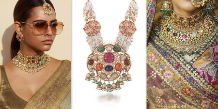 Prettiest Navratan Necklaces For The New-Age Bride!