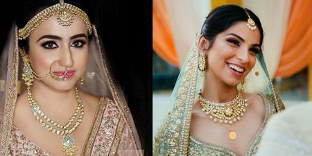 Brides That Went Completely Minimal With Their Bridal Jewellery!