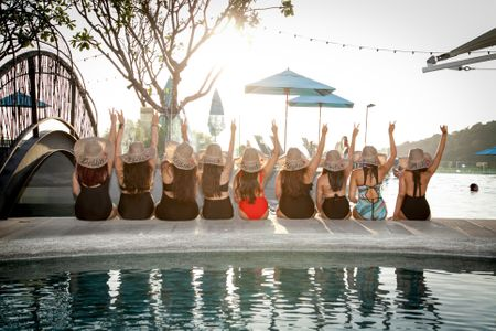 This Bride & Her Squad Had A Fabulous Bachelorette In Phuket!