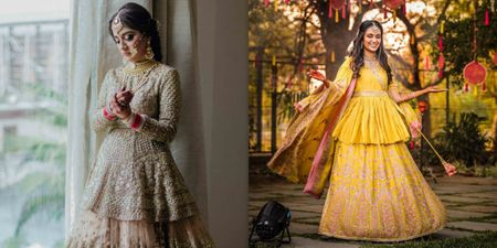 And You Thought Long Bridal Blouses Would Look Duh? Wait Till You Check These Brides!