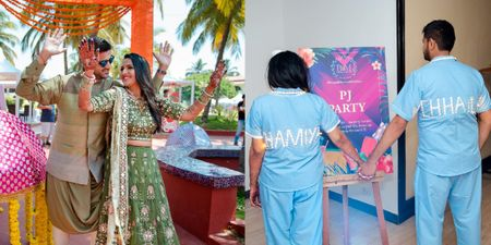 This Couple Had The Craziest Ideas At Their Wedding! *Including An LED Pyjama After-Party!