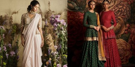 Peplum Blouses & Why You Need To Have Them In Your Bridal Trousseau!