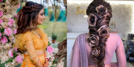 Give Flowers A Miss! These Bridal Hairstyles Sans Flowers Look Beyond Ethereal!