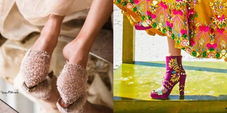 5 Desi Labels To Buy Some Fabulous Bridal Heels!