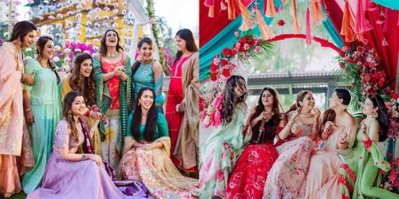 Bridesmaids In Mismatched Outfits Tend To Add Vibrancy To Your Wedding Photos! Check 'em Out!!