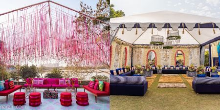 #Trending: Bridal Seats On Your Mehendi Are Out. Lounges Are In!