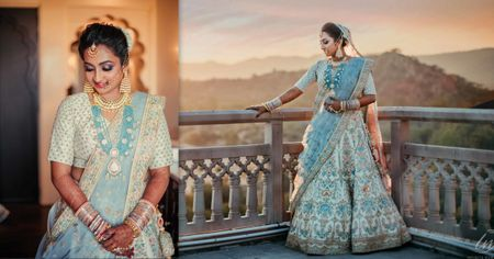 A Regal Jaipur Wedding With Stunning Portraits And A Bride In An Unconventional Outfit!