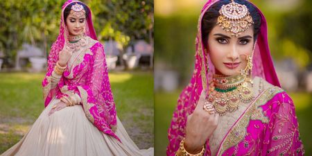 This Bride Wore A 30 Year Old Vintage Dupatta!