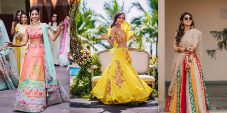Quarantined? Here Are 10 Brides Who Designed Their Own Lehengas & You Can Too!