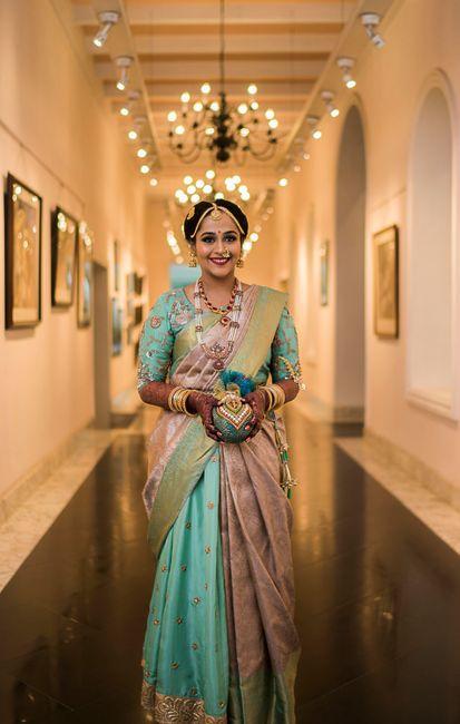 A Stunning Bangalore Wedding With The Bride In An Offbeat Kanjivaram