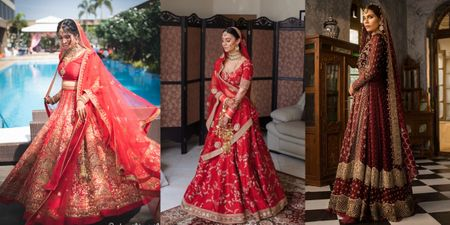 15+ Shades Of Red For Bride To Rock This Wedding Season