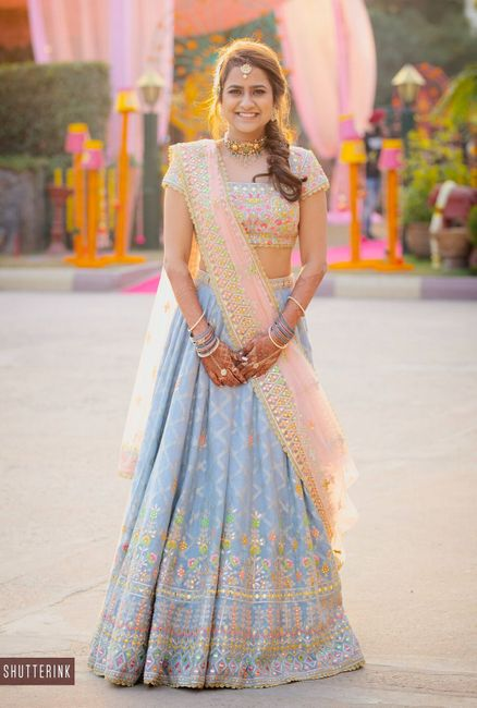 A Glamorous Manesar Wedding With The Bride In Outfits Worth Eyeing At!