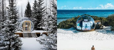 #Trending: Bubble Hotels Around The World For An Offbeat Honeymoon!