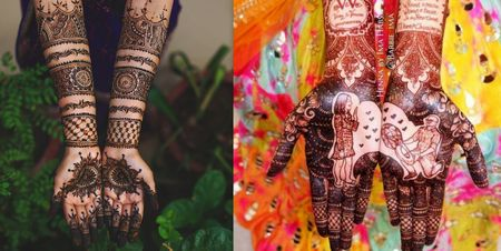 Bridal Mehndi For Full Hands