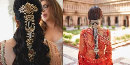 Pretty Bridal Hair Jewellery Ideas Other Than Jooda Pins Which Can Elevate Your Entire Look!