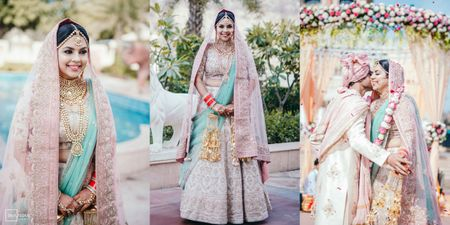 An Ethereal Jaipur Wedding With The Bride In Pastel Hues
