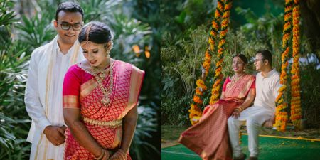A Cross-Culture Wedding With Innovative Decor Elements!