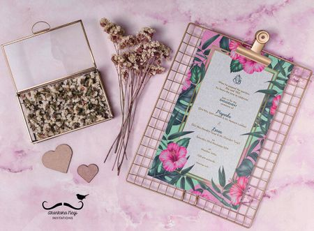 #Trending: Wedding Invites You Might Not Have Seen Before!