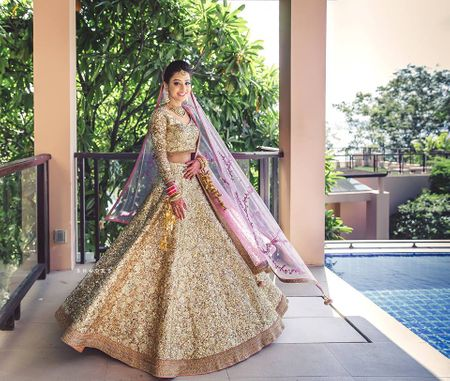 Are Monochrome Lehengas The Latest Bridal Lehenga Trend?